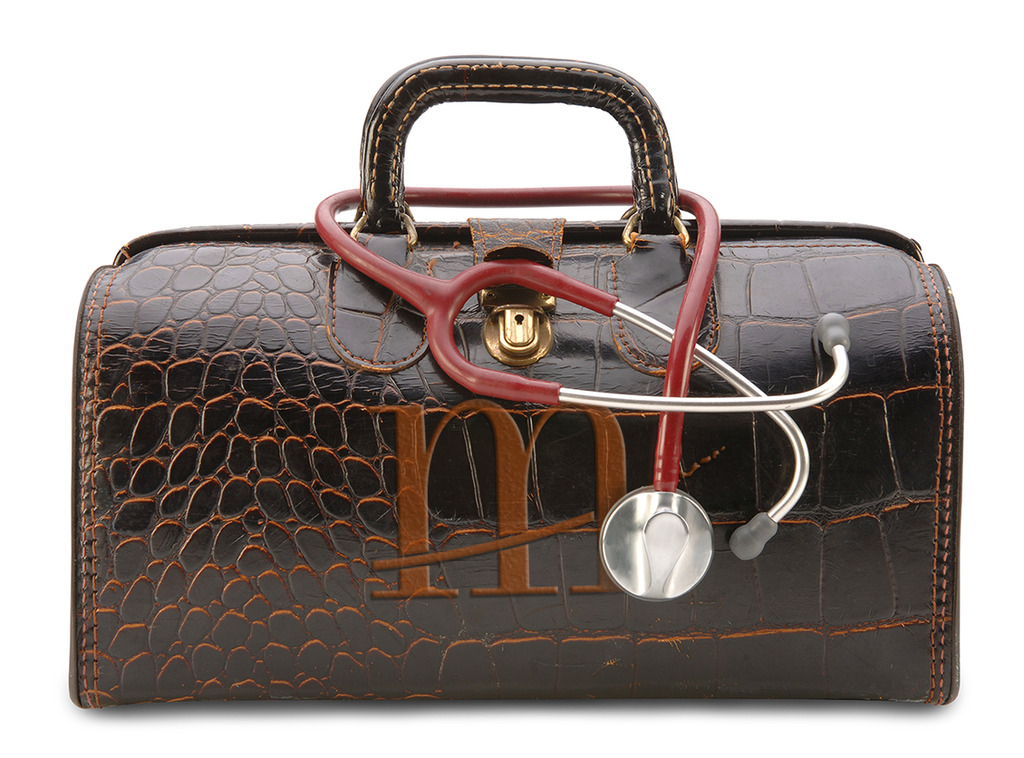 doctor bag, stethoscope, marketing firm, markitects